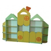 "Children wall unit ""Small house"" + MDF overlays"