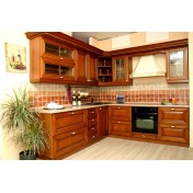 Kitchen 69984 classic made of natural wood