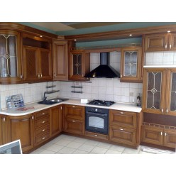 Kitchen 69985 classic made of natural wood