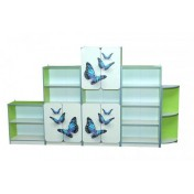 Children wall unit with 5 elements and photoprint