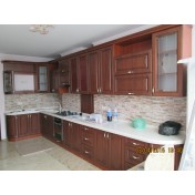 Kitchen 79984 - facades made of MDF laminated