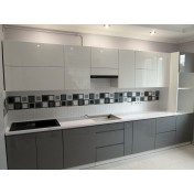 Kitchen 89941 - facades of painted MDF