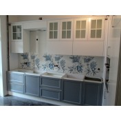 Kitchen 89931 - facades of painted MDF