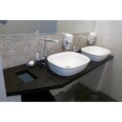 Acrylic stone cellar with sinks